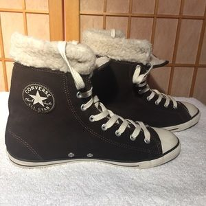 Converse All Star with Sherpa Lining